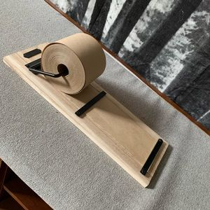 Wooden paper roll holder • hearth & hand magnolia